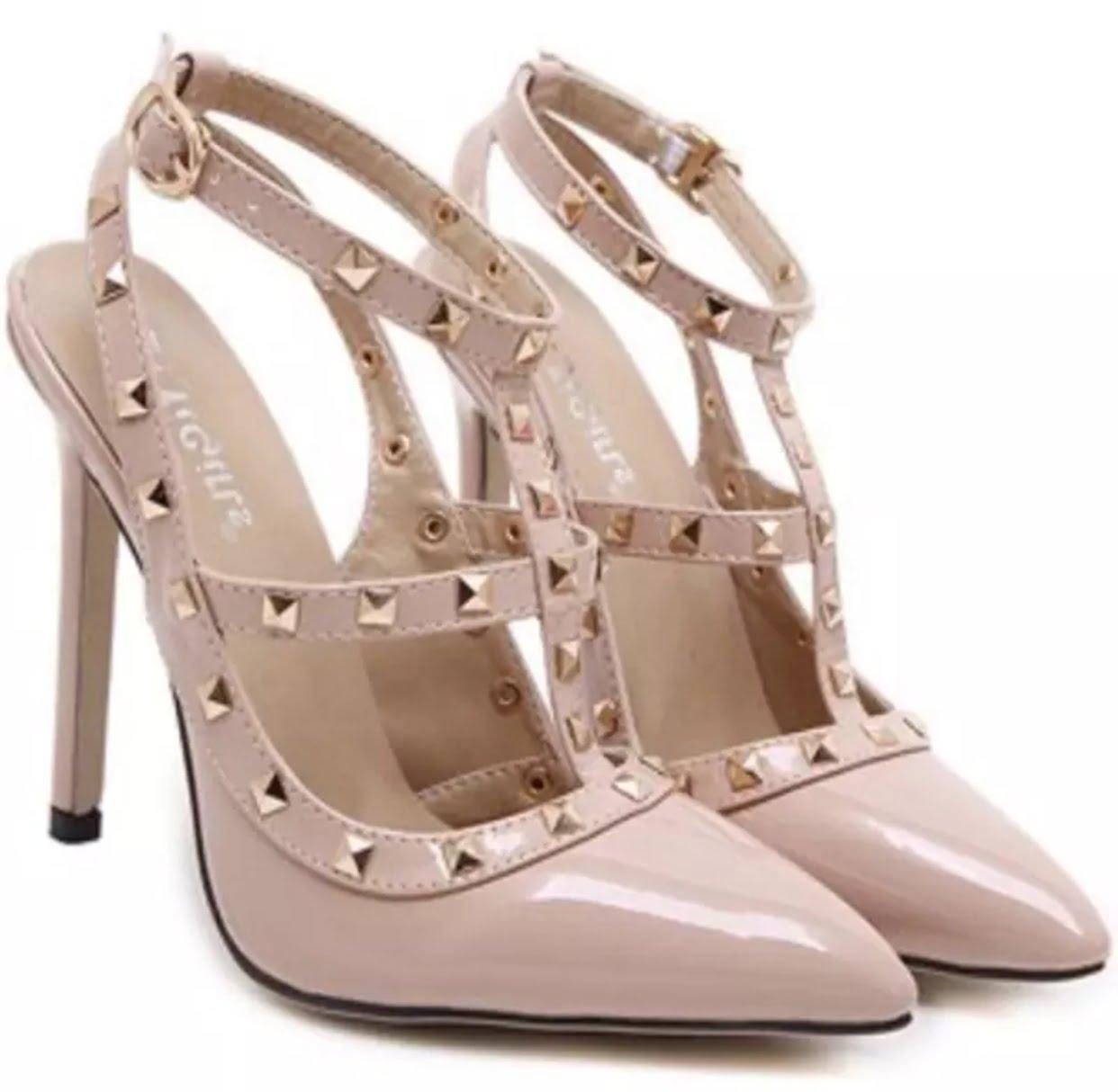 Nude work heels - Madame Alpha